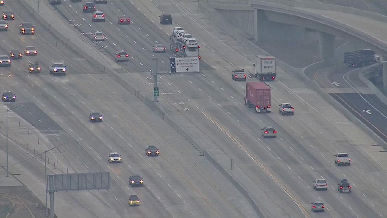 Carpool lane on North 405 Freeway opens | abc7 com