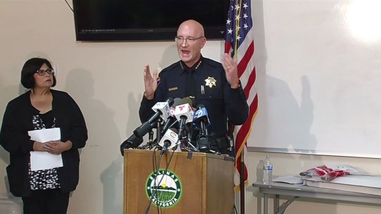 Salinas Police Chief Kelly McMillin