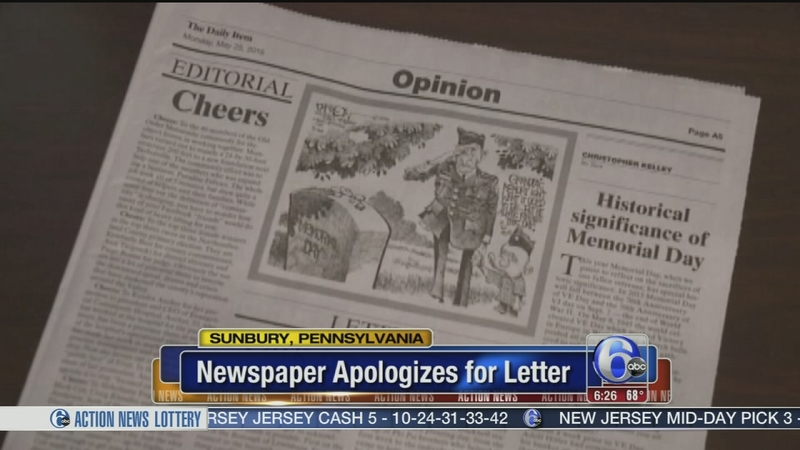 VIDEO: Paper sorry for letter suggesting Obama should be executed