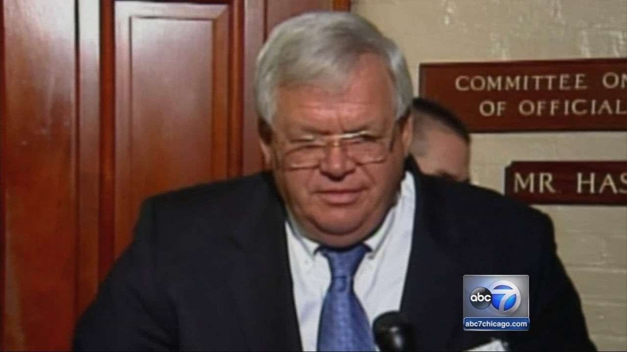 Dennis Hastert mum day after indictment
