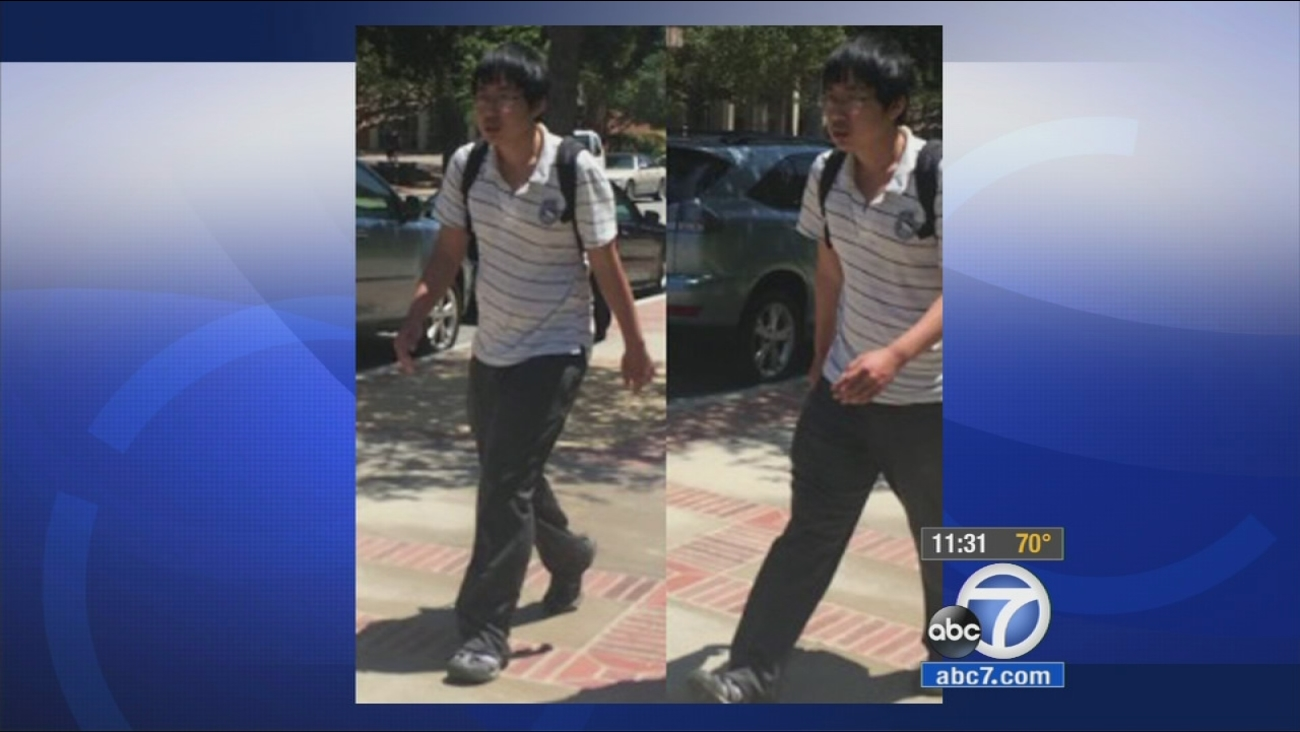 UCLA police released this image of the suspect accused of groping women on campus.