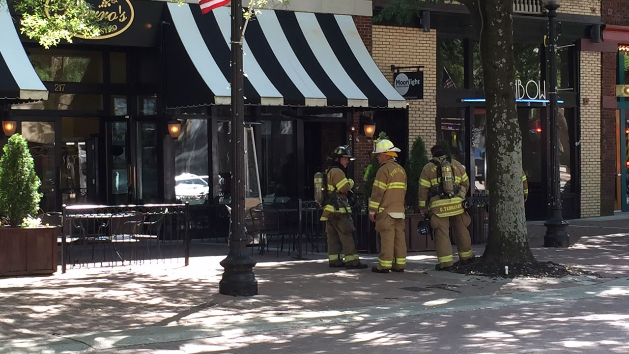 Pierro's Restaurant on Hay Street in Fayetteville was evacuated as a precaution after a report of a possible gas leak.