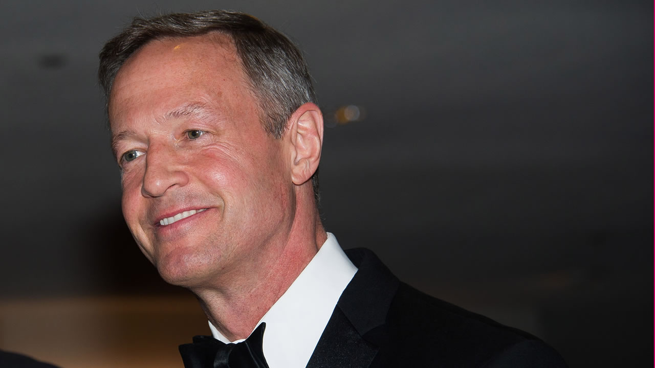 Martin O'Malley attends the 2015 White House Correspondents' Association Dinner at the Washington Hilton Hotel on Saturday, April 25, 2015.