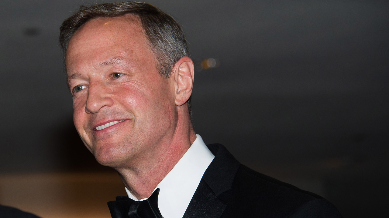 Martin O'Malley attends the 2015 White House Correspondents' Association Dinner at the Washington Hilton Hotel on Saturday, April 25, 2015, in Washington.