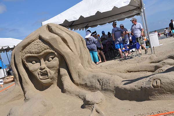 "<div class=""meta image-caption""><div class=""origin-logo origin-image none""><span>none</span></div><span class=""caption-text"">AIA SandCastle Competition brought more than 60 teams vying to win the Golden Bucket to Galveston's East Beach on May 30, 2015 (Photo/ABC13)</span></div>"