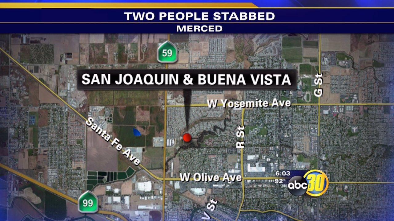 Merced double stabbing