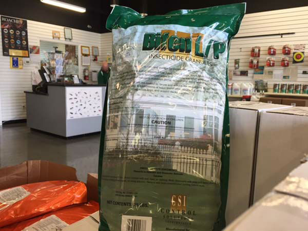 "<div class=""meta image-caption""><div class=""origin-logo origin-image none""><span>none</span></div><span class=""caption-text"">To treat beds in your lawn and landscape, a chemical called Bifon L/P Granuals will help control fire ants. A bag costs $29.95 and will last 7-10 applications. (KTRK Photo)</span></div>"