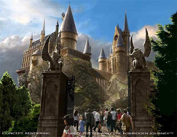 """<div class=""""meta image-caption""""><div class=""""origin-logo origin-image none""""><span>none</span></div><span class=""""caption-text"""">An artist rendering shows the 'Harry Potter and the Forbidden Journey' ride at  'The Wizarding World of Harry Potter,' slated to open in spring 2016 at Universal Studios Hollywood. (Universal Studios Hollywood)</span></div>"""