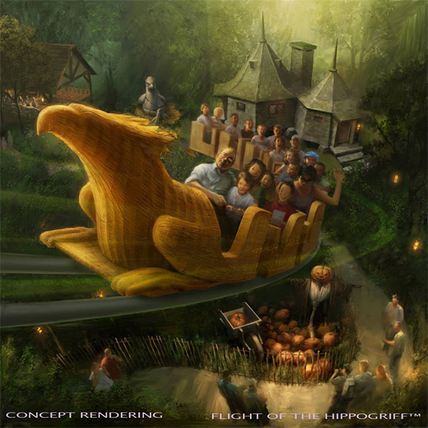 """<div class=""""meta image-caption""""><div class=""""origin-logo origin-image none""""><span>none</span></div><span class=""""caption-text"""">An artist rendering shows the 'Flight of the Hippogriff' ride at 'The Wizarding World of Harry Potter,' slated to open in spring 2016 at Universal Studios Hollywood. (Universal Studios Hollywood)</span></div>"""