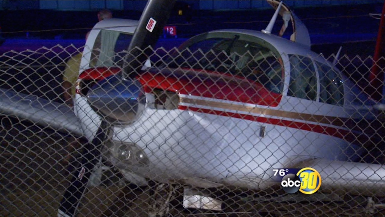 Pilot survives plane crash at Fresno's Chandler Airport