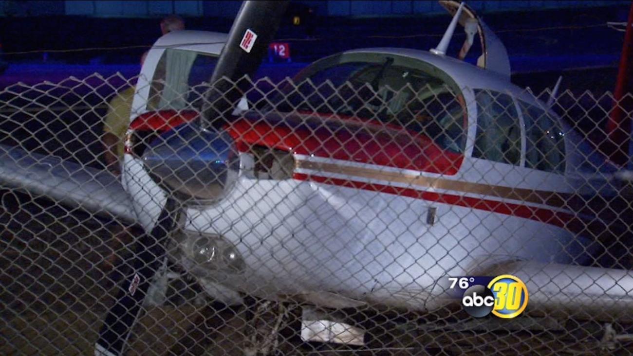 Pilot survives plane crash at Fresno's Chandler Airport