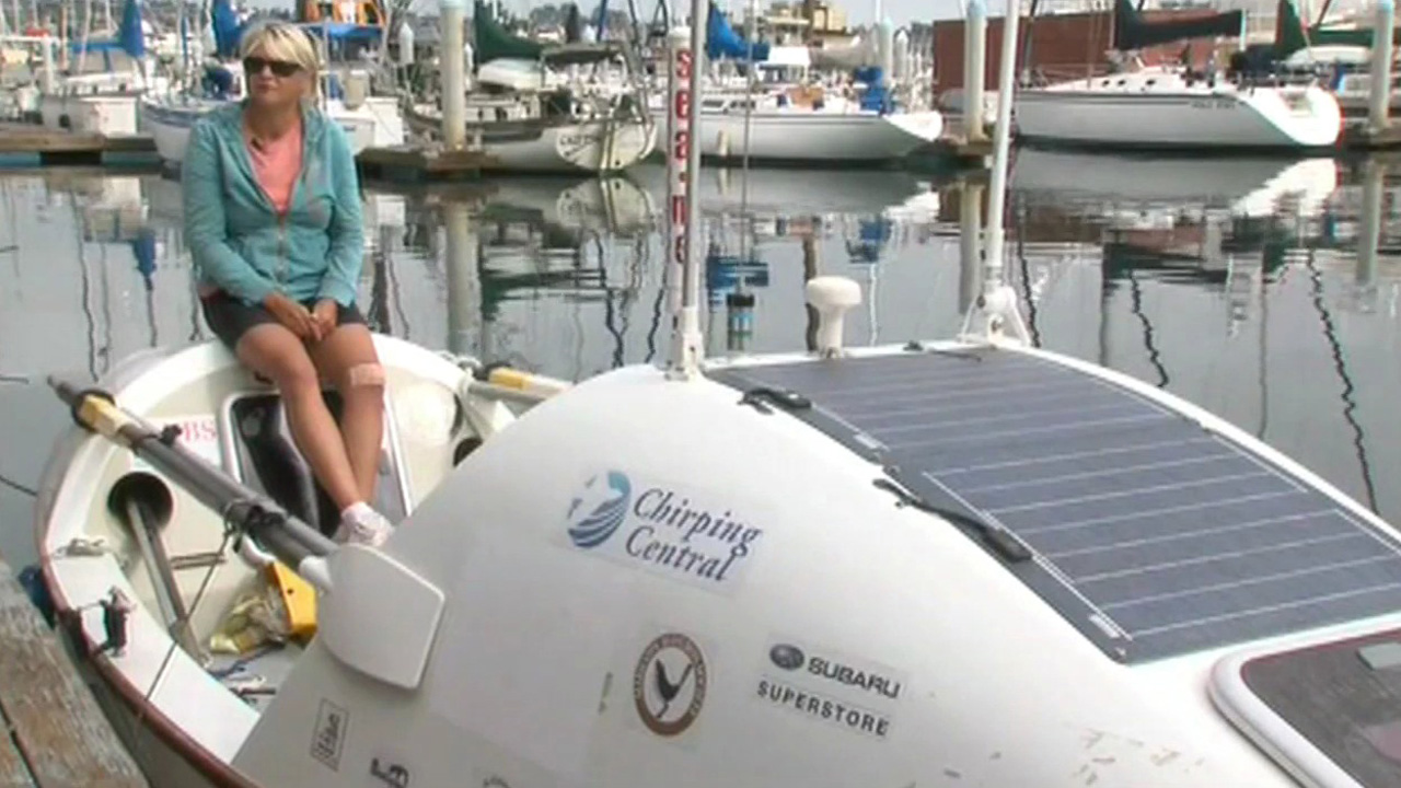 Mary Rose will attempt to row from San Diego to Hawaii.
