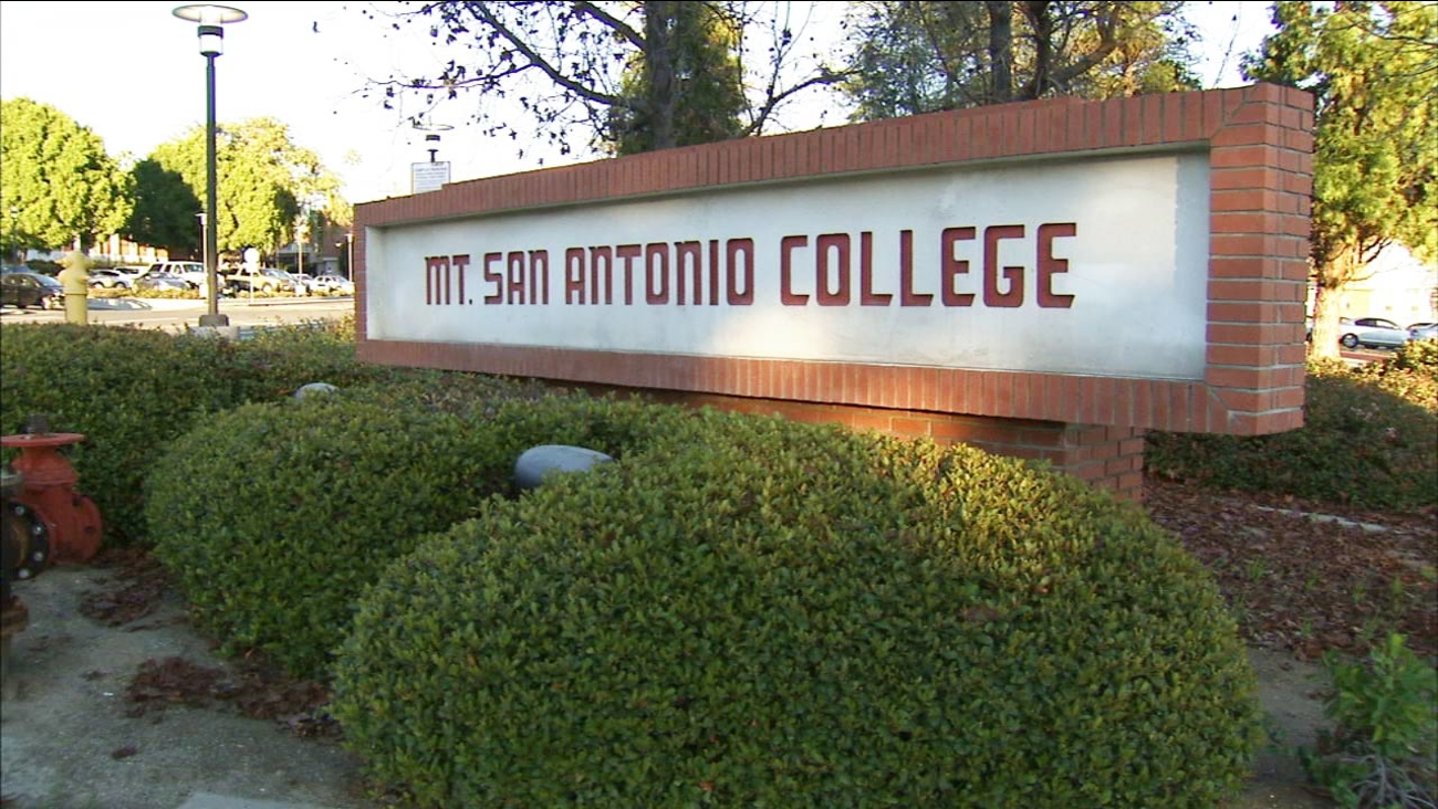 Mt. San Antonio College in Walnut, California.