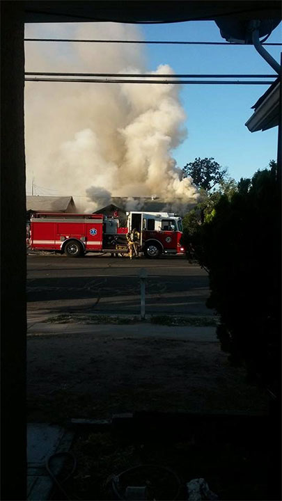 Central Fresno house fire