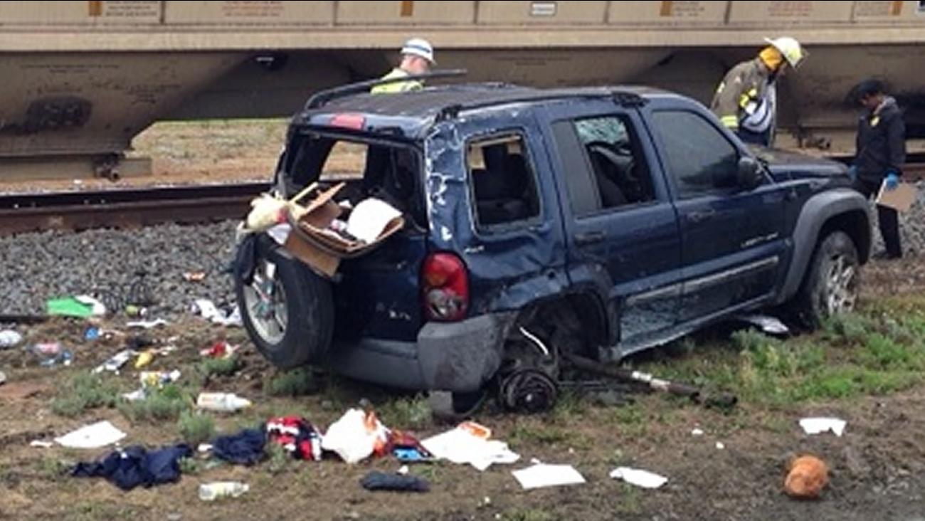 Mount Olive train crash