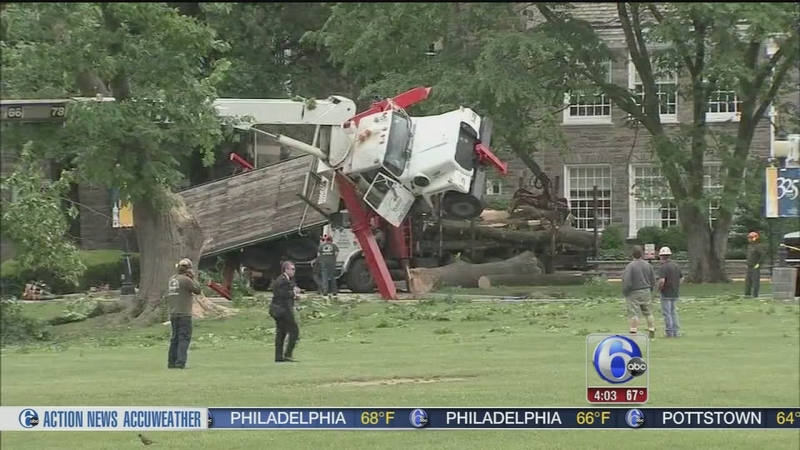 VIDEO: Worker injured in crane accident