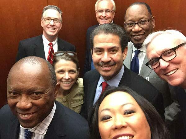 "<div class=""meta image-caption""><div class=""origin-logo origin-image none""><span>none</span></div><span class=""caption-text"">Miya Shay and Houston mayoral candidates selfie (KTRK Photo)</span></div>"