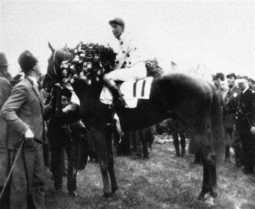 "<div class=""meta image-caption""><div class=""origin-logo origin-image none""><span>none</span></div><span class=""caption-text"">Omaha was the Triple Crown winner in 1935, capturing the Kentucky Derby, Preakness, and Belmont Stakes. (AP Photo) (AP Photo/ V  PO PEC  XPEC)</span></div>"