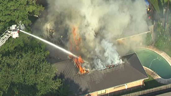 """<div class=""""meta image-caption""""><div class=""""origin-logo origin-image none""""><span>none</span></div><span class=""""caption-text"""">A five-bedroom house in southwest Houston caught fire this morning (KTRK Photo/ KTRK)</span></div>"""