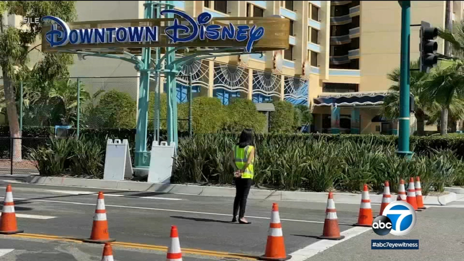 Downtown Disney restaurants reopen for outdoor dining after California loosens some COVID restrictions