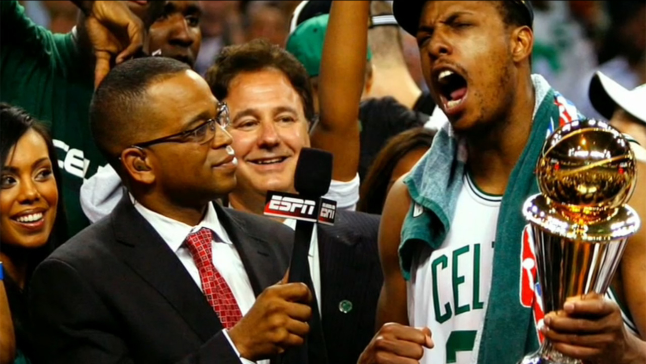 51a437b3421 Michael Wilbon remembers Stuart Scott during Game One of NBA playoffs on  ABC