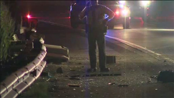 1 dead in crash on I-95 in Tinicum Township