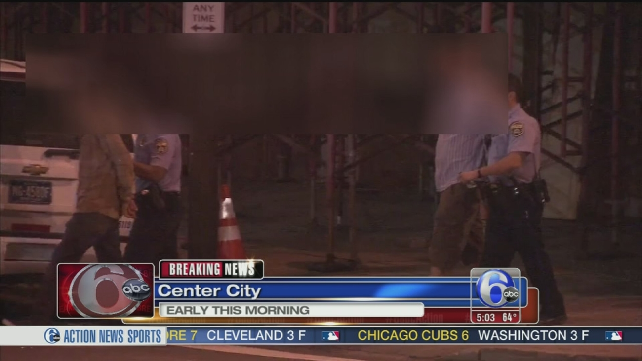 VIDEO: Center City construction site break-in