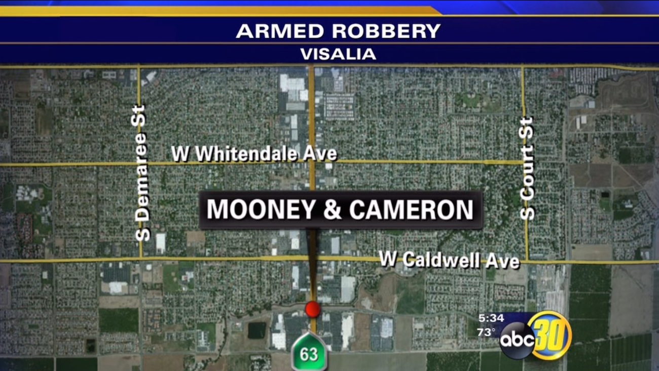 Robber hits Tilly's store in Visalia