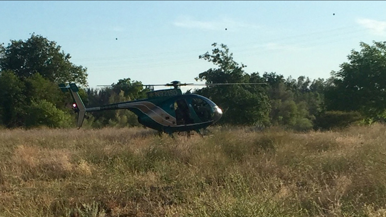 The Fresno County sheriff's helicopter, Eagle 1, is seen in this photo on Sunday, June 7, 2015.