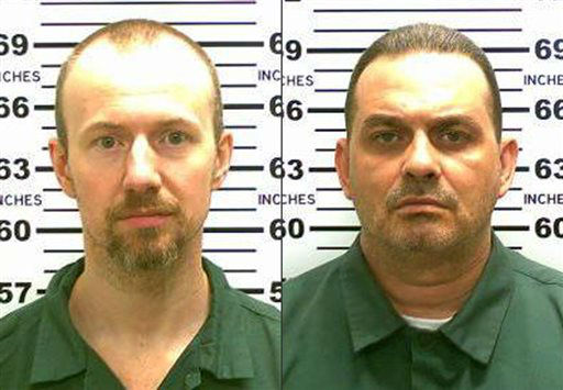 """<div class=""""meta image-caption""""><div class=""""origin-logo origin-image none""""><span>none</span></div><span class=""""caption-text"""">This combination made from photos released by the New York State Police shows inmates David Sweat, left, and Richard Matt. (AP Photo/ Uncredited)</span></div>"""