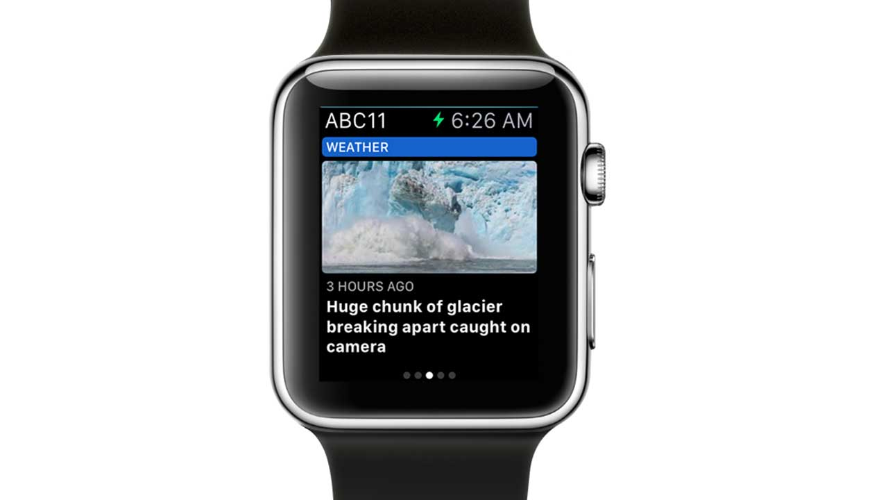 Check out ABC11 Eyewitness News on the ABC11 Apple Watch app | abc11 com