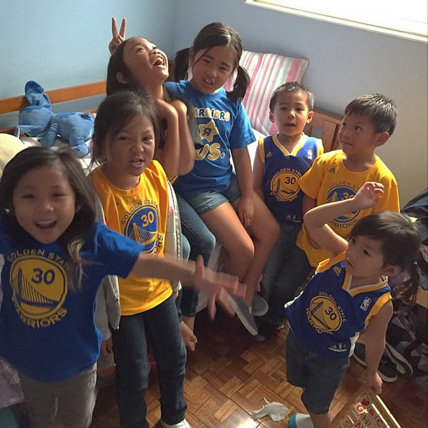 <div class='meta'><div class='origin-logo' data-origin='none'></div><span class='caption-text' data-credit='Photo submitted to KGO-TV by mr_lacs/Instagram'>Check out these little Warriors fans showing off their love for Steph Curry! Tag your photos on Facebook, Twitter, Google Plus or Instagram using #DubsOn7.</span></div>