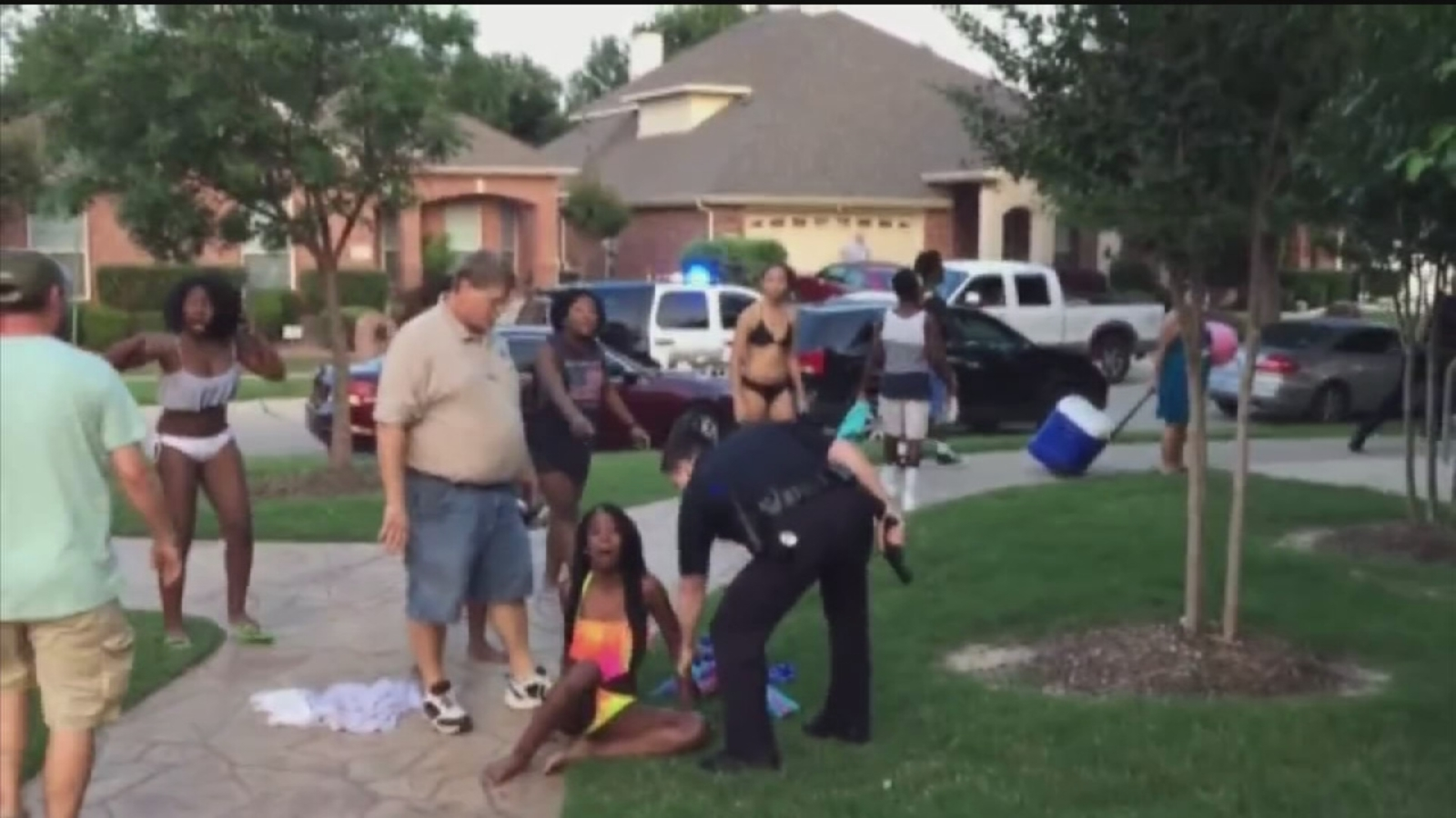 McKinney, Texas, Cop Placed on Leave After Pulling Gun on