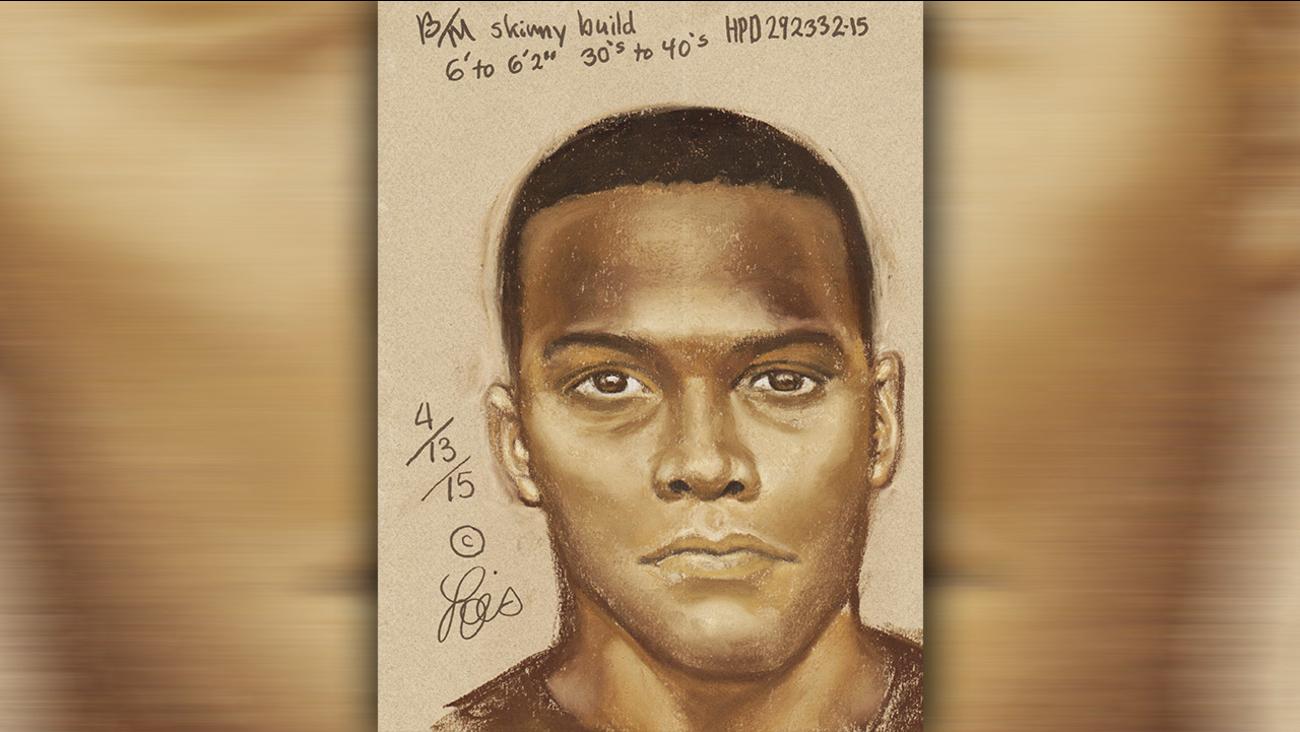 Sex assault suspect sketch