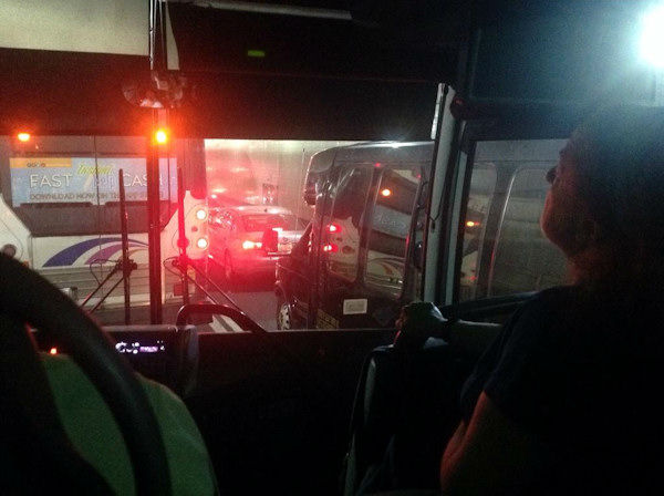 """<div class=""""meta image-caption""""><div class=""""origin-logo origin-image none""""><span>none</span></div><span class=""""caption-text"""">Photo from inside the Lincoln Tunnel where 2 buses collided.  This photo from @slothead via Twitter</span></div>"""