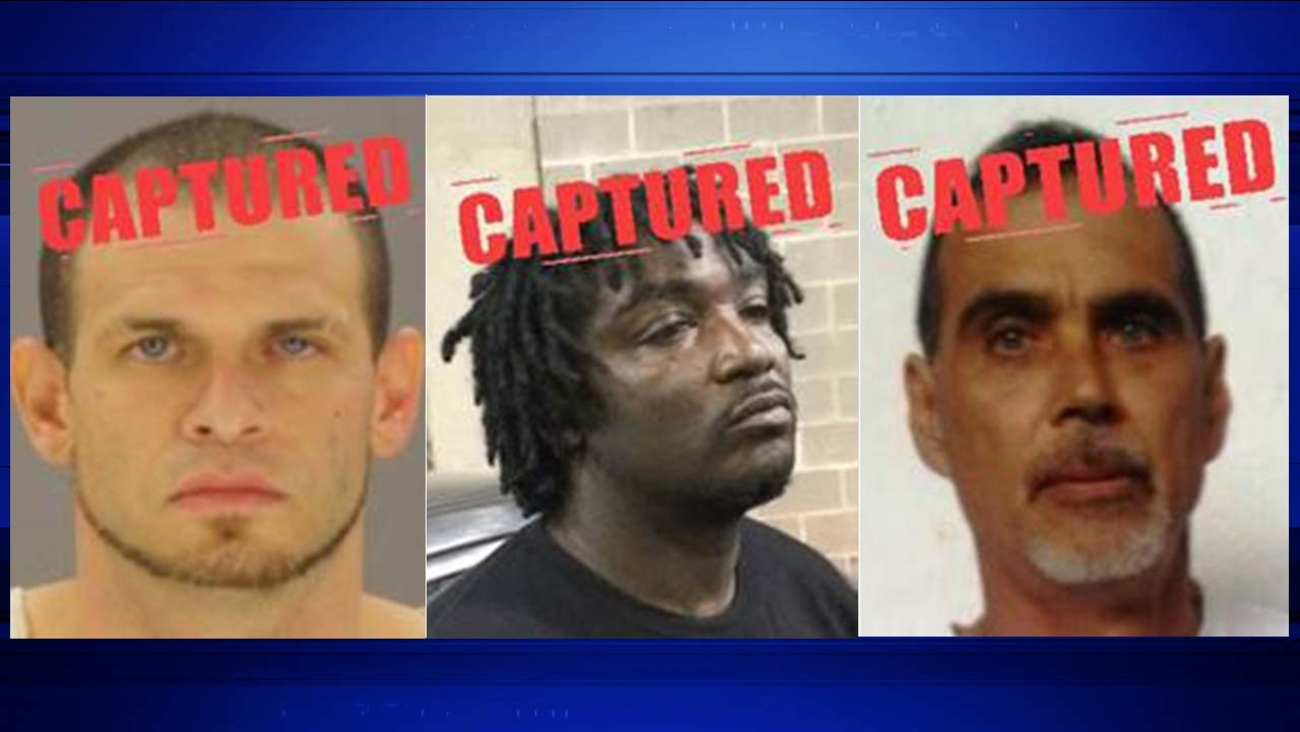 People from most wanted lists captured