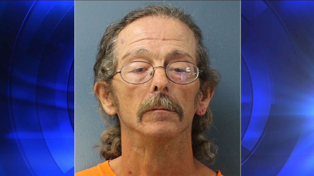 William Huston Bickford, 50, is seen in this booking photo.