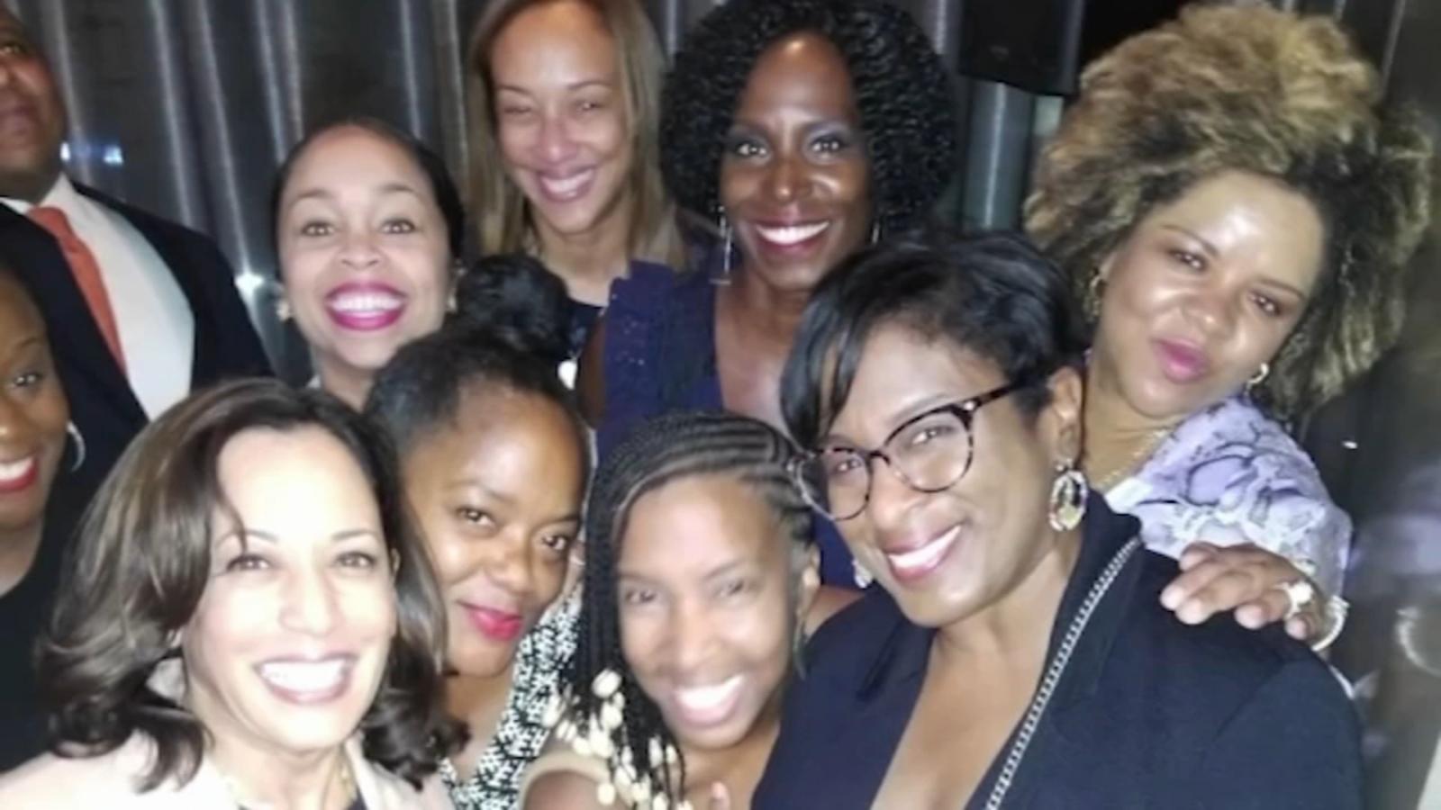 Howard University Alpha Kappa Alpha Sorority Sisters Of Vice President Elect Kamala Harris Celebrate Her Win Abc13 Houston