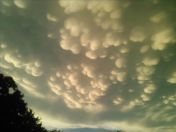 """<div class=""""meta image-caption""""><div class=""""origin-logo origin-image none""""><span>none</span></div><span class=""""caption-text"""">Mammatus clouds over Glenwood, Ill. Shared by Mary Anderson. (WLS Photo/ USEEIT)</span></div>"""