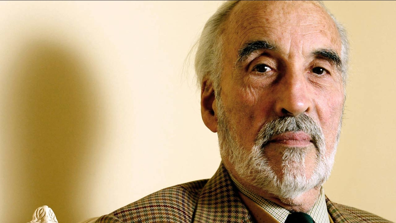 British actor Christopher Lee, known for roles from Count Dracula to the wicked wizard Saruman in 'The Lord of the Rings' trilogy, died on June 7, 2015. He was 93.