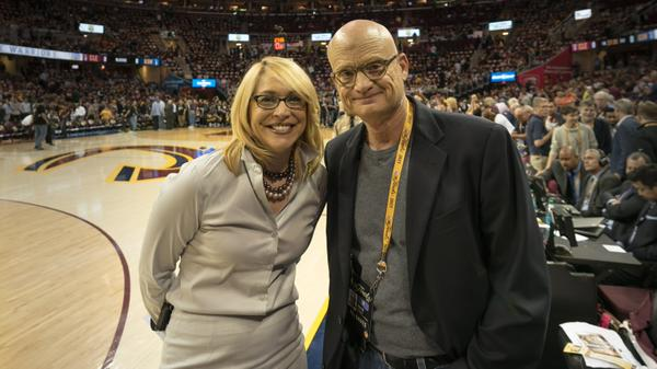 "<div class=""meta image-caption""><div class=""origin-logo origin-image none""><span>none</span></div><span class=""caption-text"">ABC7 News reporter Wayne Freedman was thrilled to meet ESPN reporter Doris Burke on Tuesday, June 9, 2015 in Cleveland, Ohio. (KGO-TV)</span></div>"
