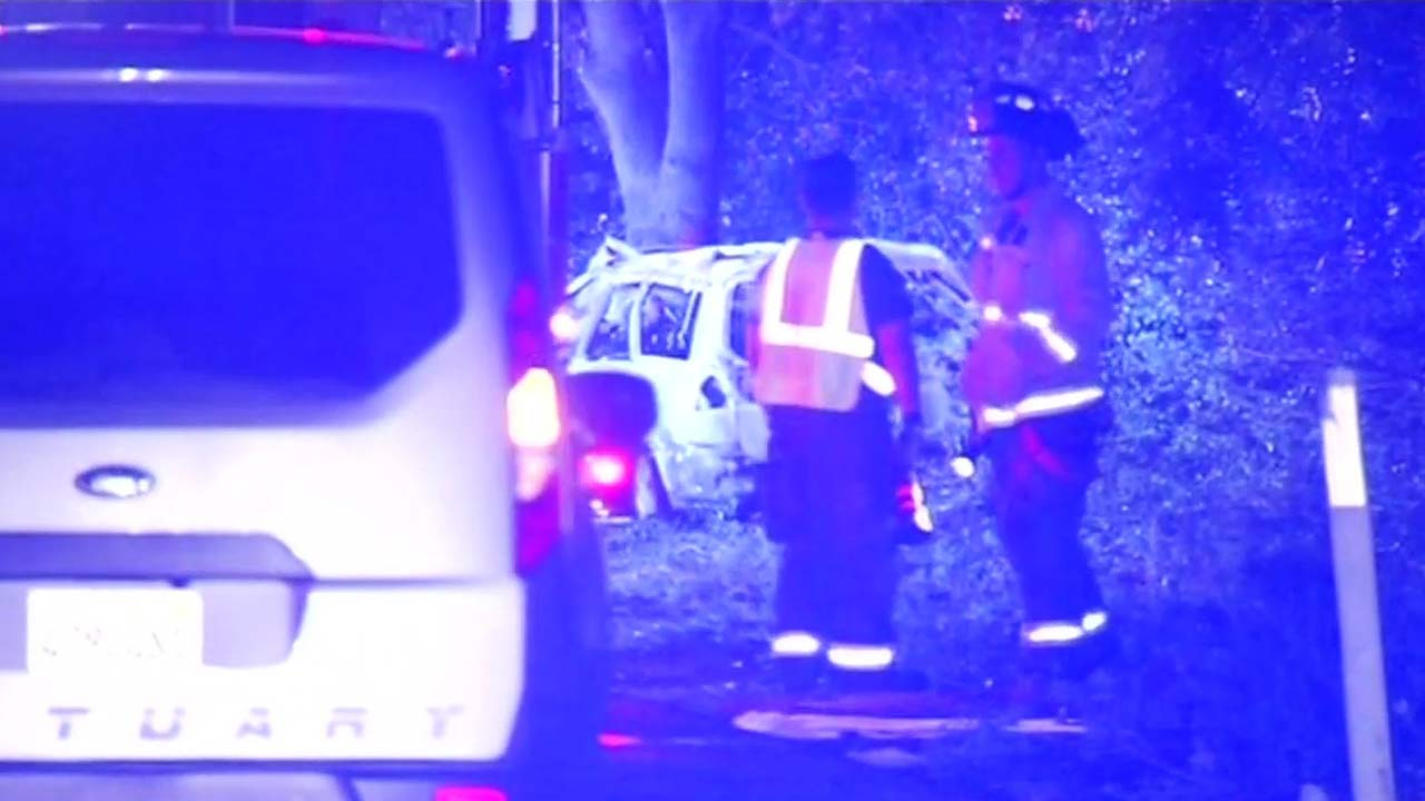 Fatal accident scene in San Jose.