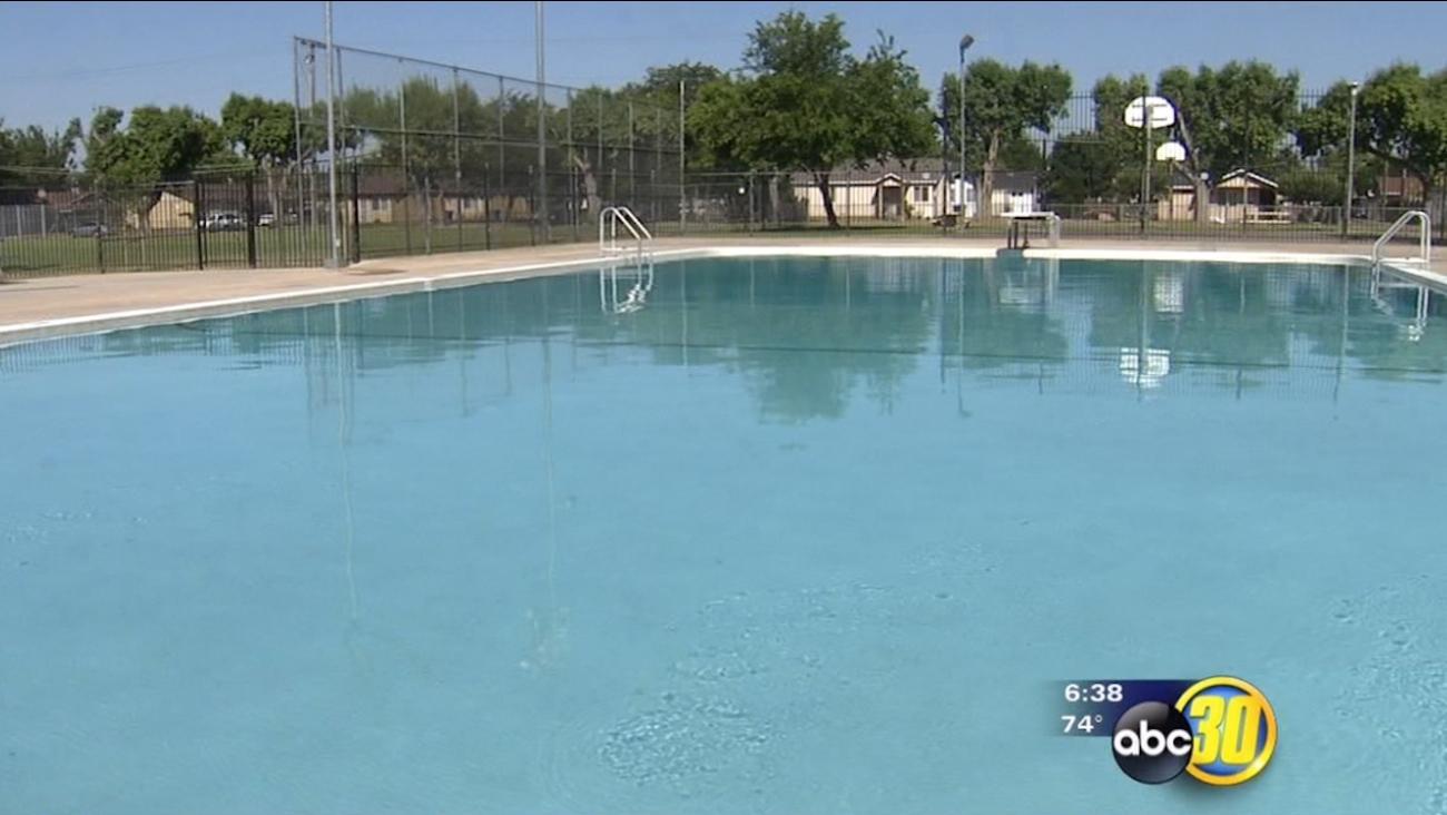 Merced pools