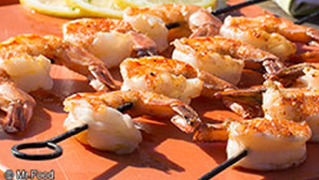 Mr. Food: Shrimp on the Barbie