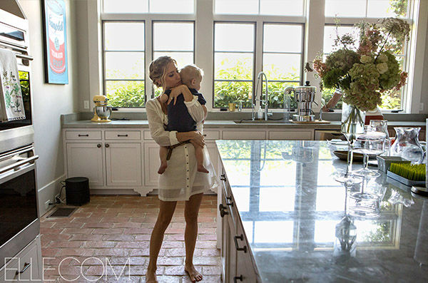 <div class='meta'><div class='origin-logo' data-origin='none'></div><span class='caption-text' data-credit='Photo/Elle.com'>Kristin Cavallari in her Nashville home. Cavallari commented to ELLE magazine that &#34;Chicago is just not home.&#34;</span></div>