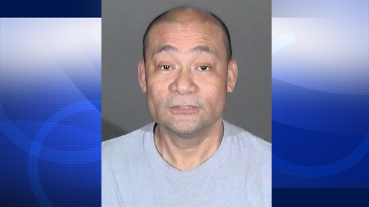 Gerald Tesoro is shown in his booking photo.