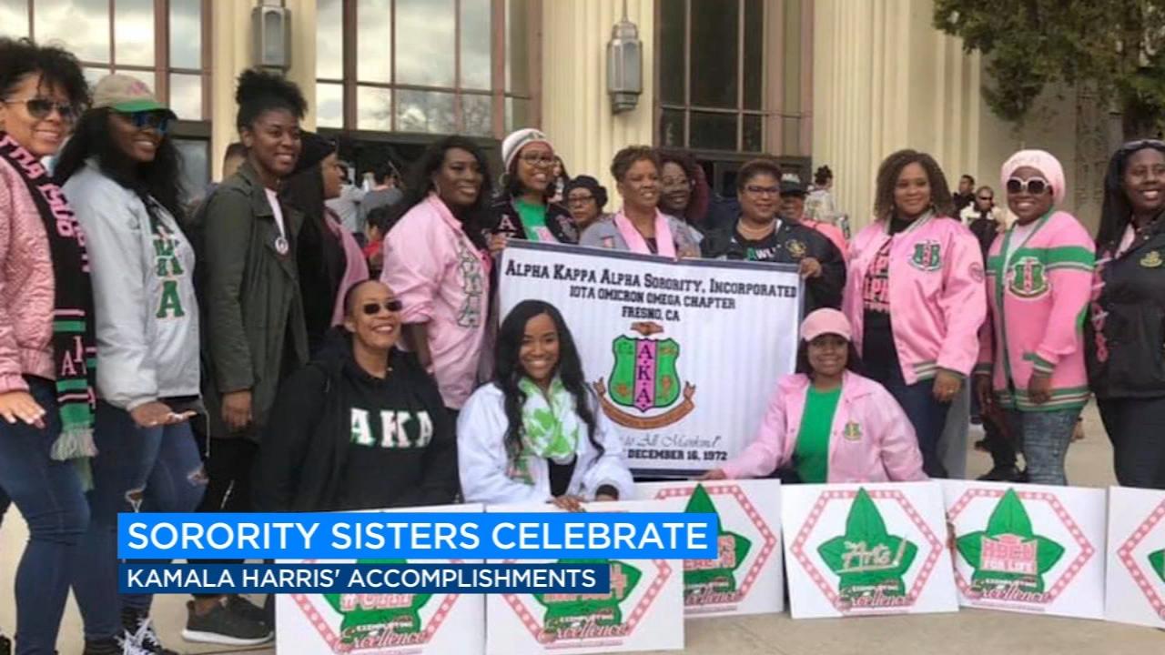 Fresno Chapter Of Kamala Harris Sorority Shares Its Pride Abc30 Fresno