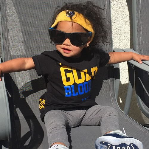 <div class='meta'><div class='origin-logo' data-origin='none'></div><span class='caption-text' data-credit='Photo submitted to KGO-TV by joweeticzon/Instagram'>This little Warriors fan is looking way cool! Tag your photos on Facebook, Twitter, Google Plus or Instagram using #DubsOn7.</span></div>