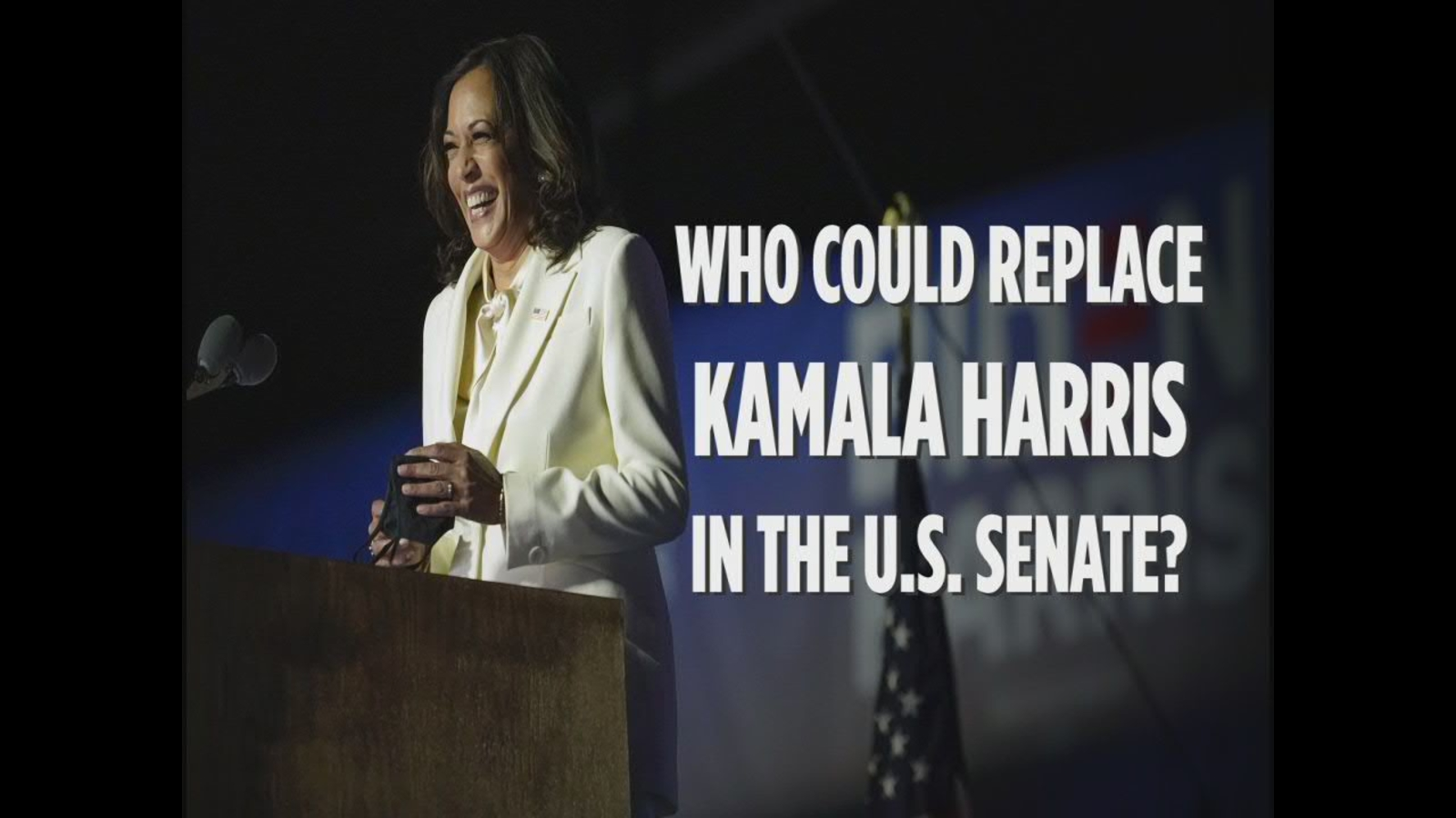 Who will replace Kamala Harris as a California senator? These are the top contenders