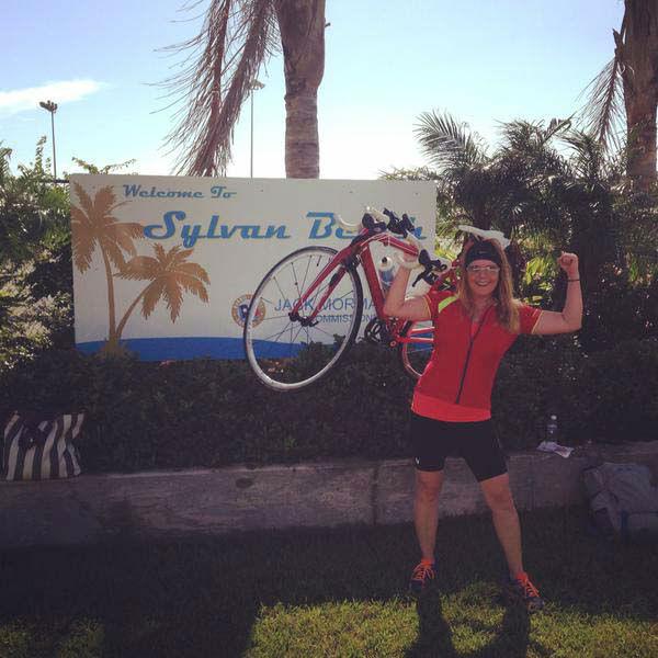 "<div class=""meta image-caption""><div class=""origin-logo origin-image none""><span>none</span></div><span class=""caption-text"">Christine Dobbyn completed the Sylvan Beach Triathlon/Duathlon (KTRK Photo)</span></div>"